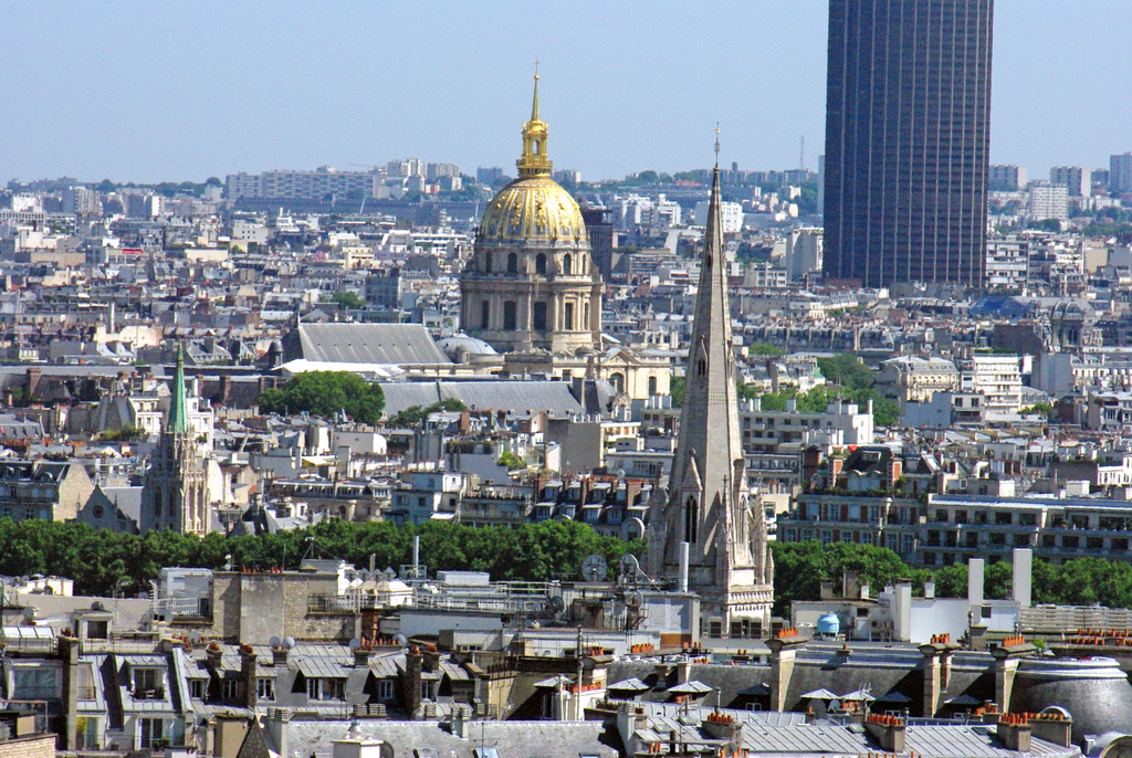 View from Arc de Triomphe 08 © French Moments