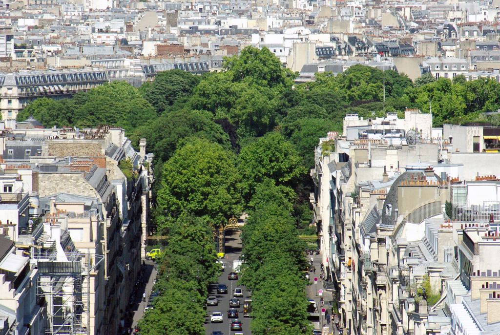 View from Arc de Triomphe 11 © French Moments