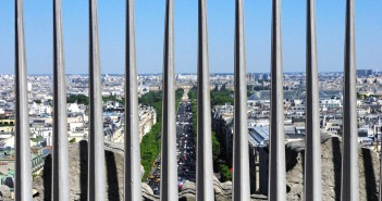 View from Arc de Triomphe 13 © French Moments