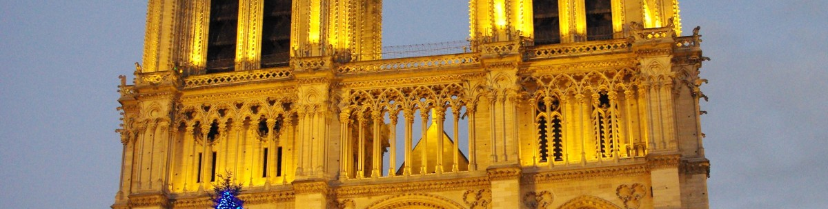 The colonnade of Notre-Dame © French Moments