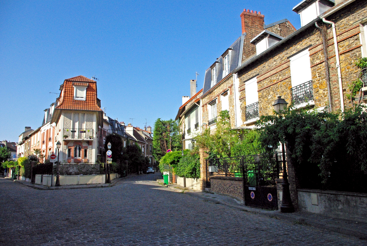 Junction between rue Irénée Blanc and rue Jules Siegfried © French Moments