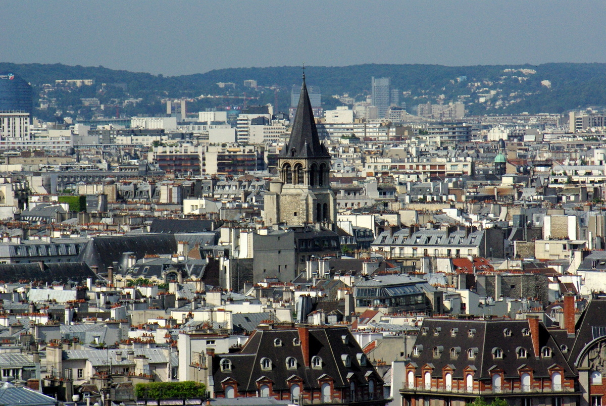 Panoramic View from Tour Saint-Jacques 32 copyright French Moments
