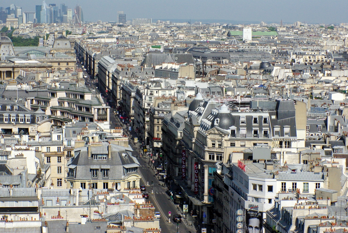Panoramic View from Tour Saint-Jacques 33 copyright French Moments