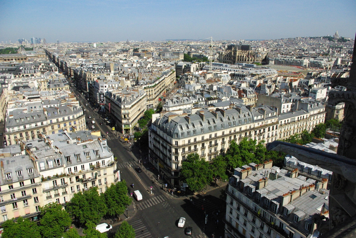 Panoramic View from Tour Saint-Jacques 7 copyright French Moments