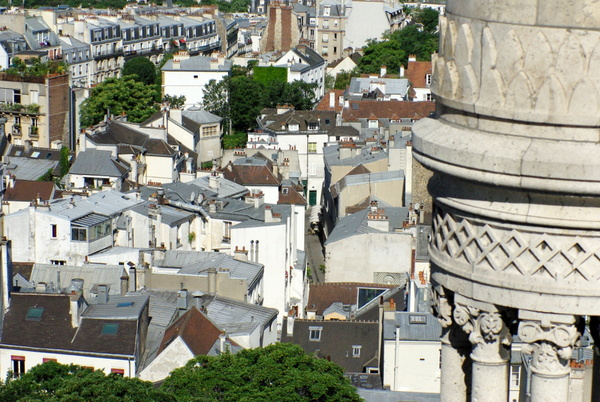 Paris View from Montmartre 51 copyright French Moments