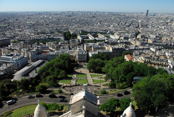 Paris View from Montmartre 7 copyright French Moments