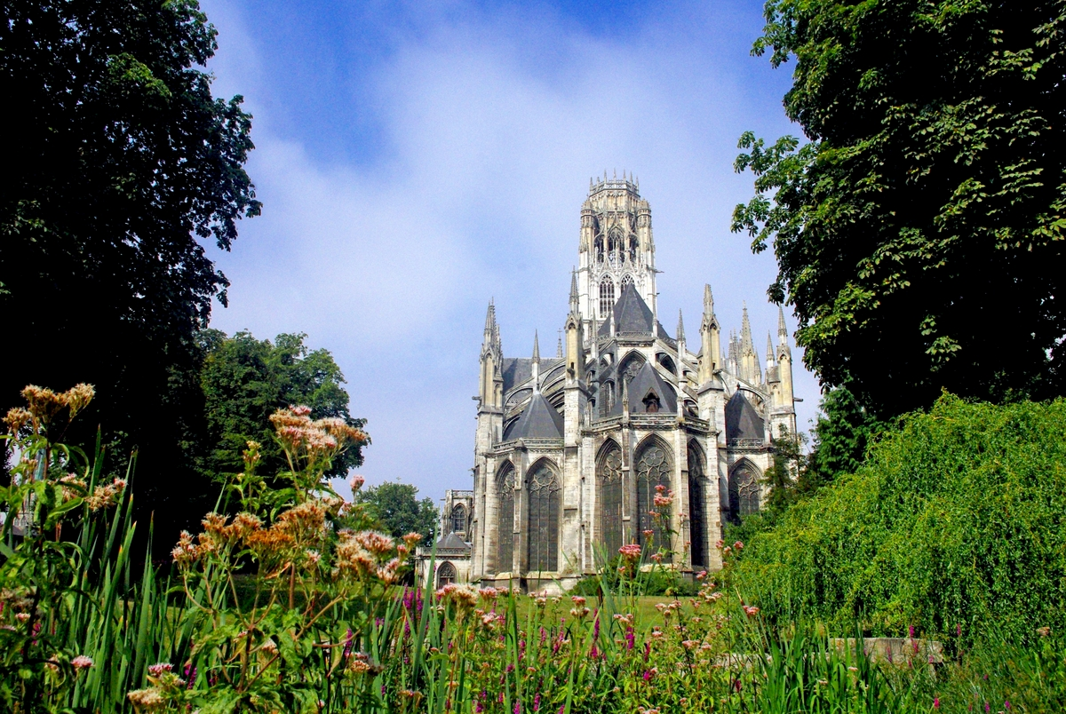 Chevet of Saint Ouen Abbey Church, Rouen © French Moments
