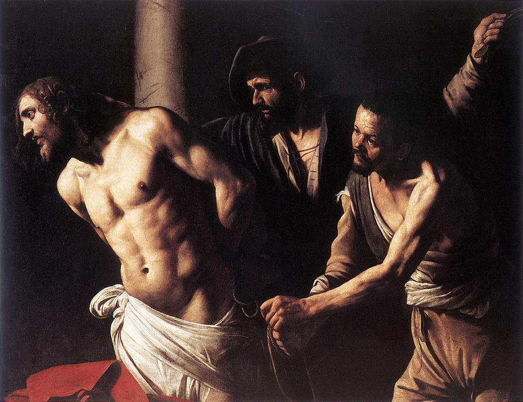 Christ at the Column by Caravaggio