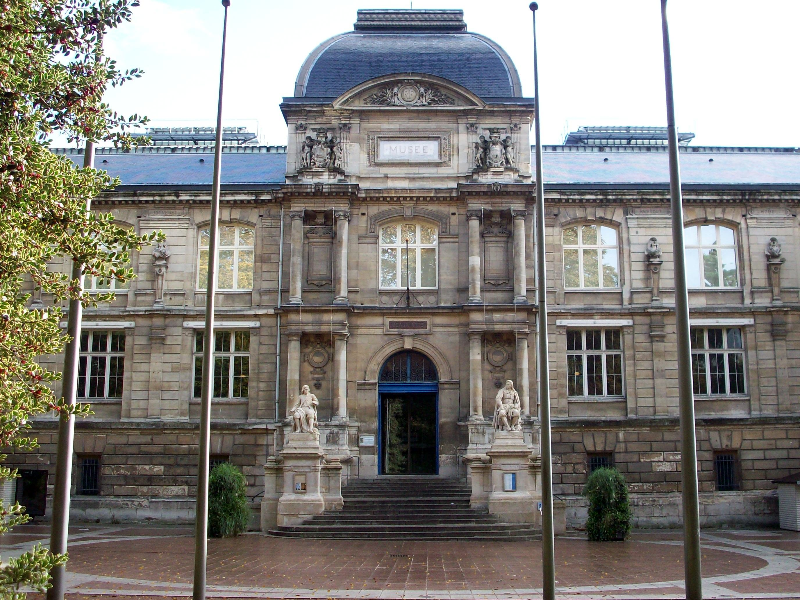 Fine Arts Museum of Rouen © Giogo - licence [CC BY-SA 3.0] from Wikimedia Commons