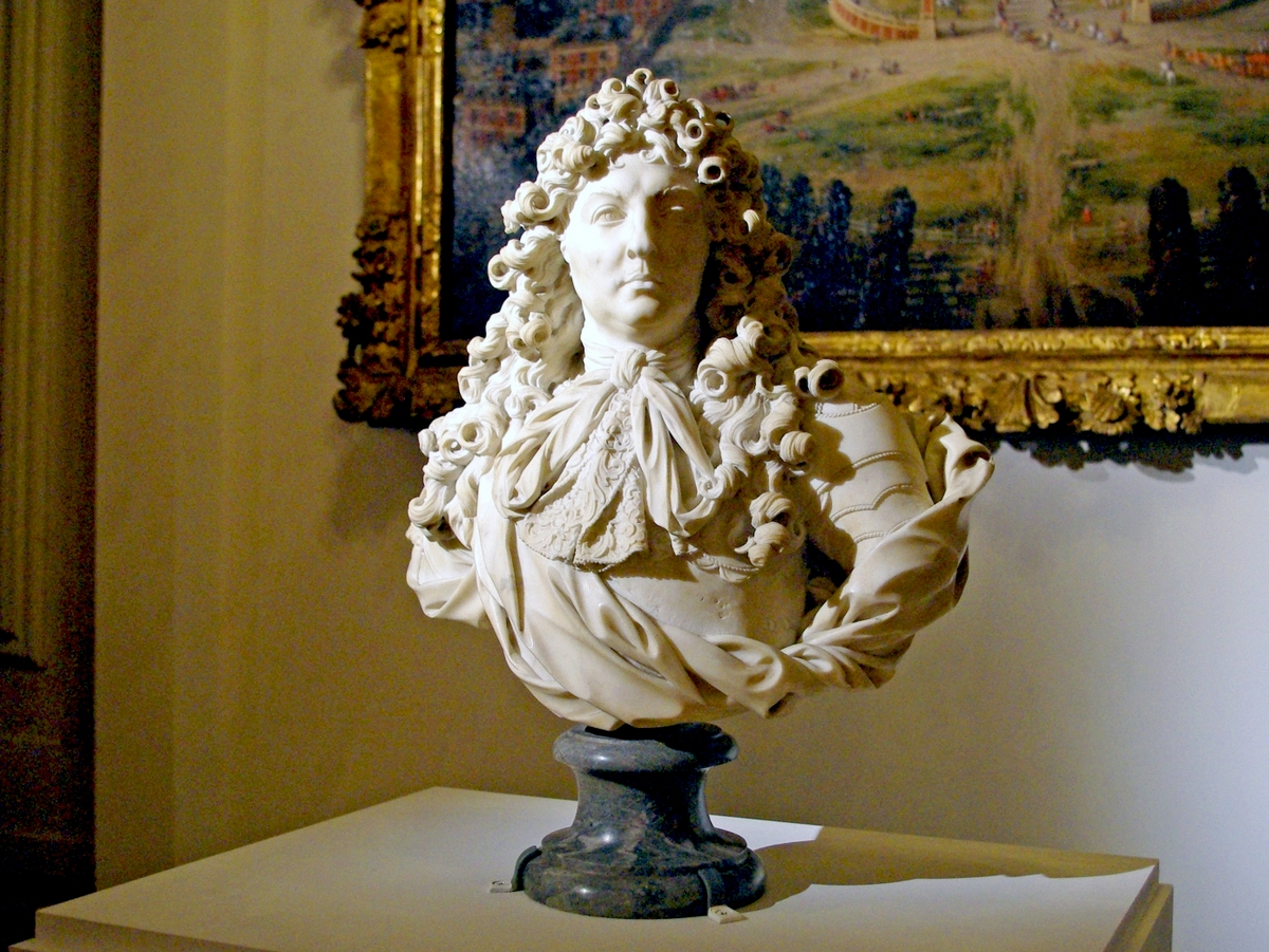 Louis XIV bust in the Grand Trianon © French Moments
