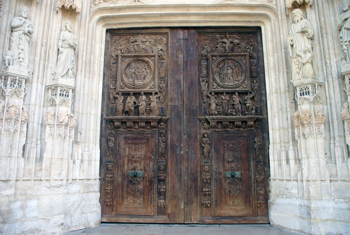 Main portal Saint Maclou in Rouen copyright French Moments