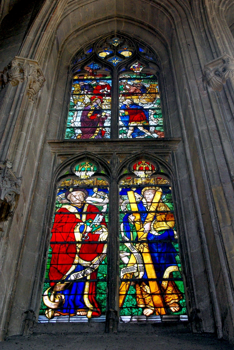 Stained-Glass windows in Tour de Beurre in Rouen Cathedral © French Moments