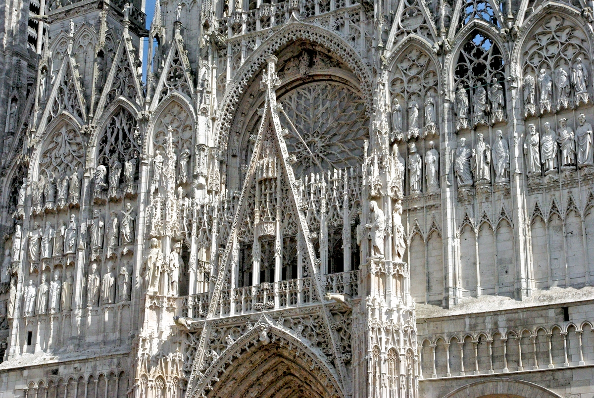 West Facade of Notre-Dame Cathedral in Rouen © French Moments