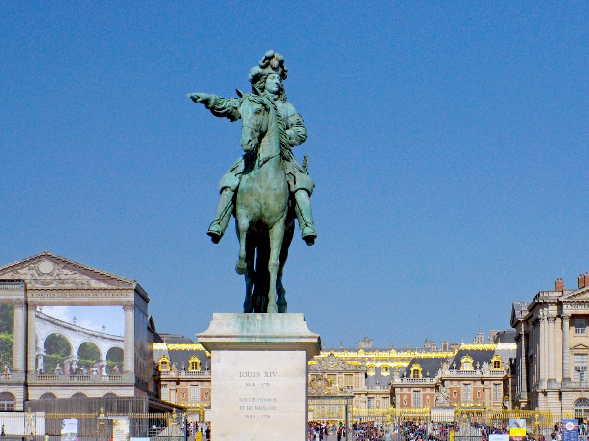 Equestrian Statue of Louis XIV in Versailles © French Moments