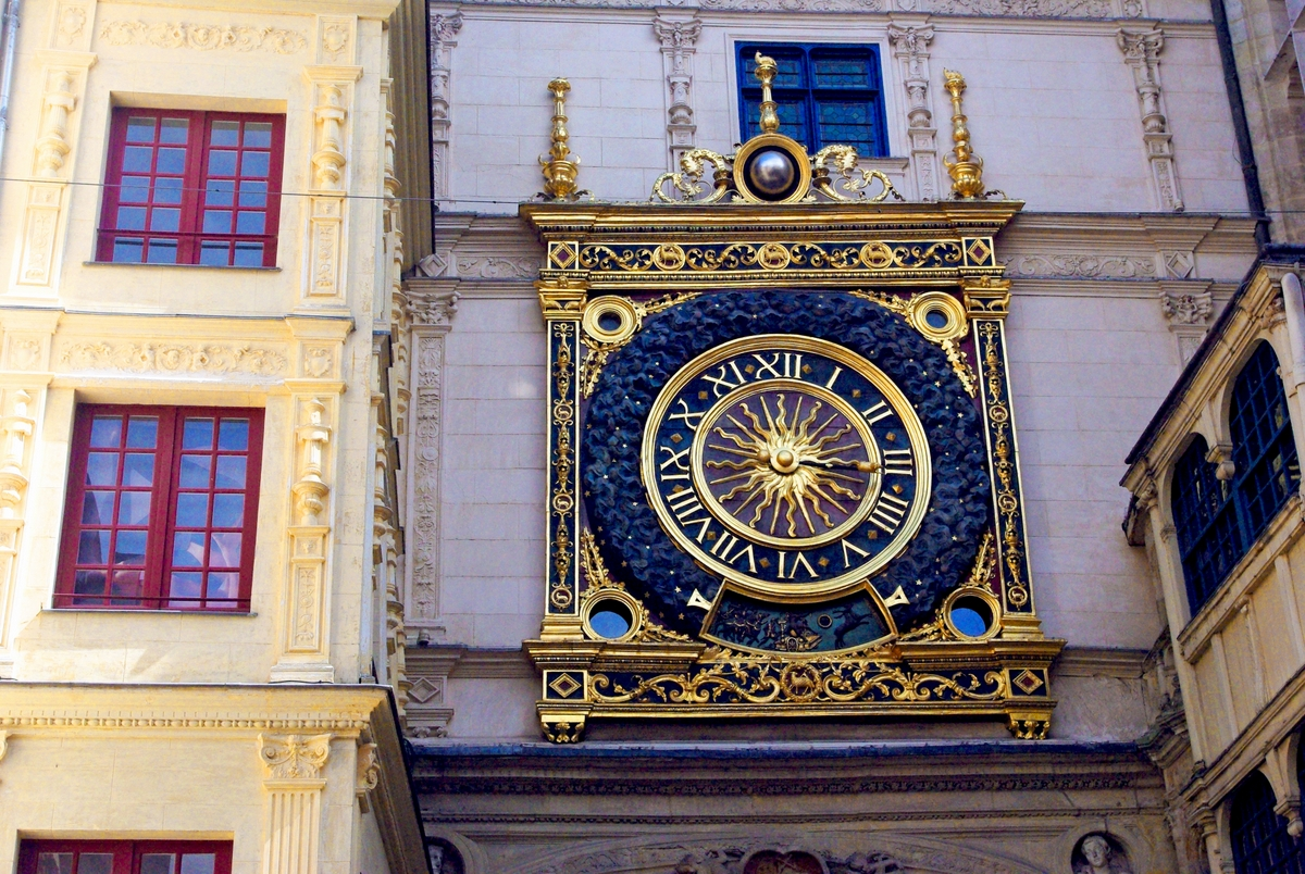 The astronomical clock Rouen © French Moments