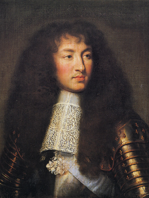 Louis XIV in 1661 by Charles Le Brun