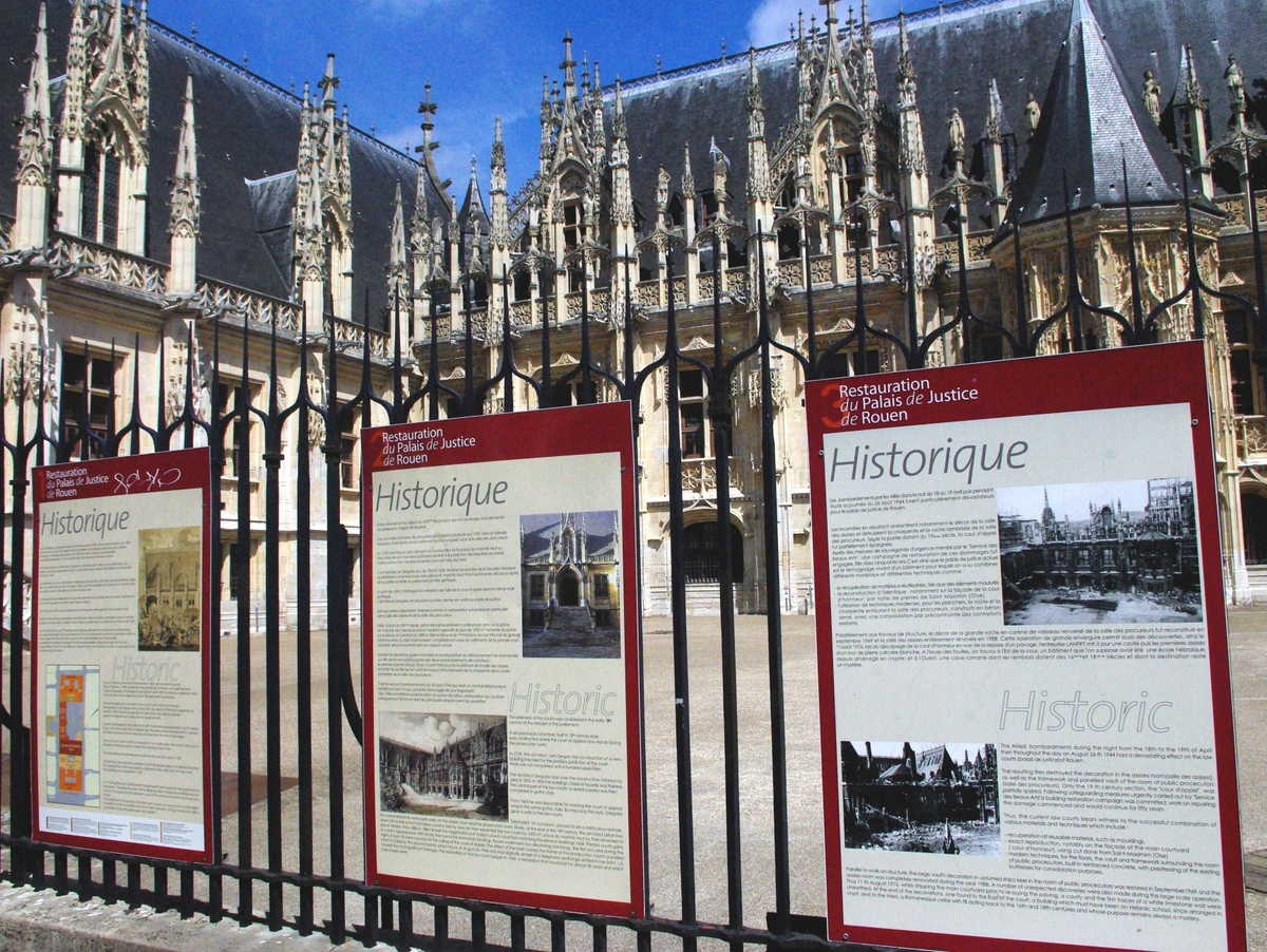 Parliament of Normandy, Rouen © French Moments