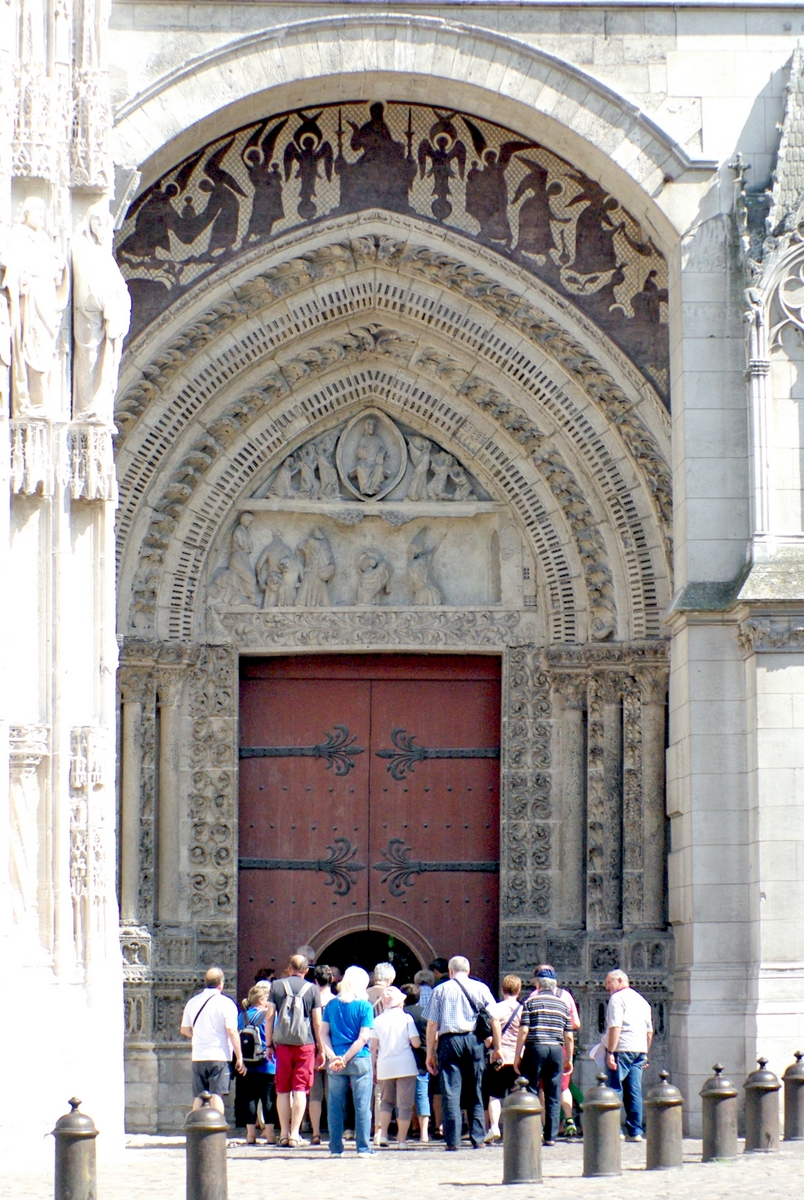 Portal Saint-Etienne, West Facade of Notre-Dame Cathedral in Rouen © French Moments