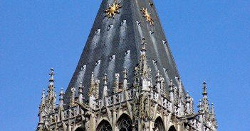 Roof of Saint Romain Tower in Rouen Cathedral copyright French Moments