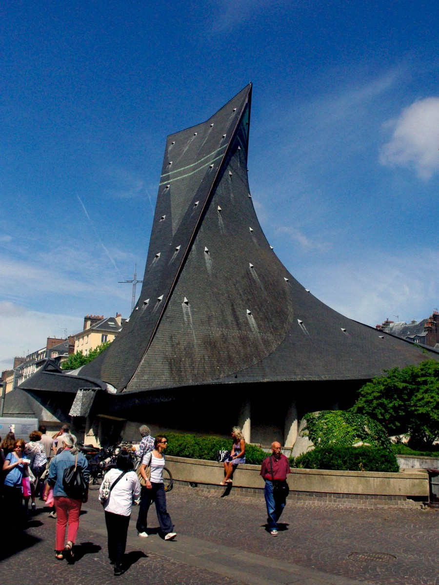 St Joan of Arc Church, Rouen © French Moments
