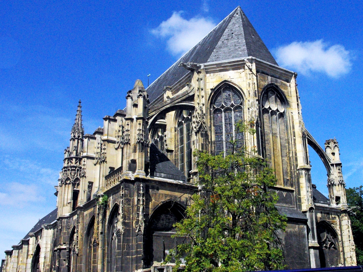 Temple Saint-Éloi, Rouen © French Moments