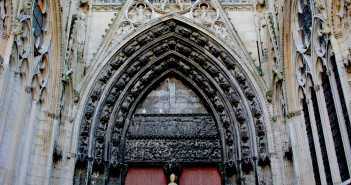 Librarians Portal, Rouen Cathedral © French Moments