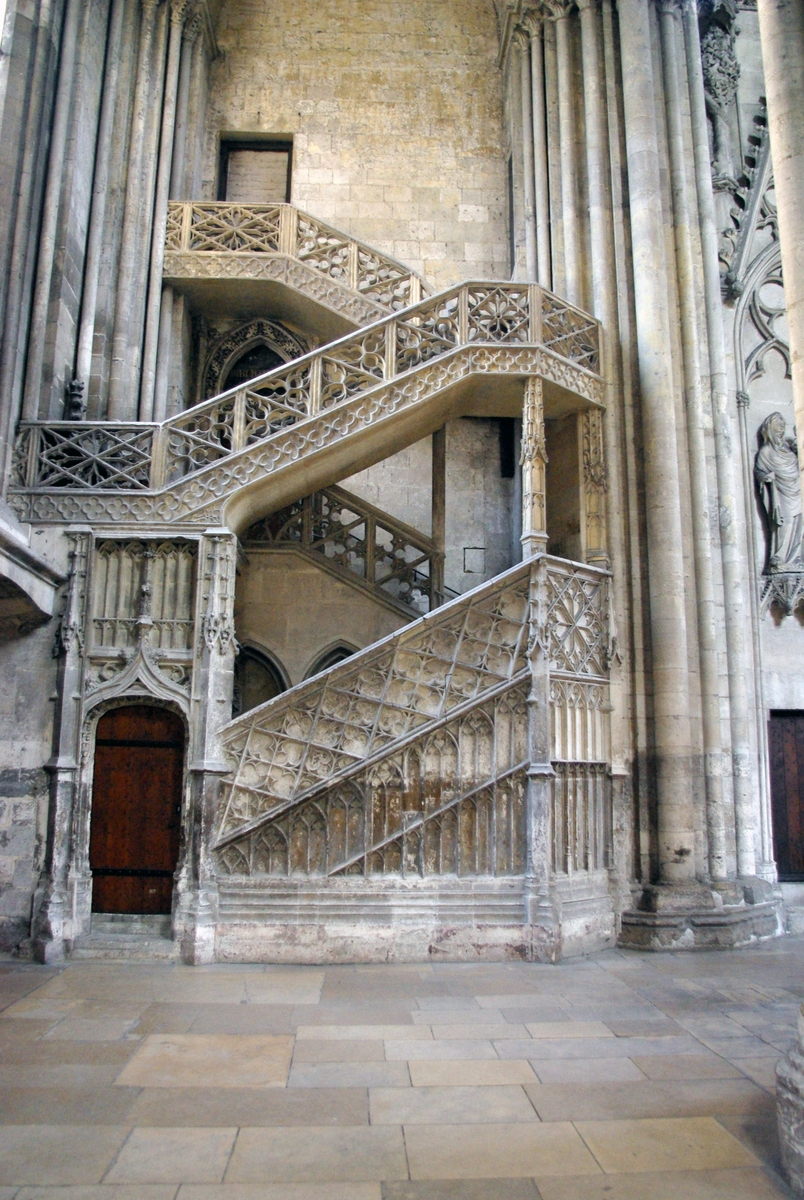 Escaliers des Libraires in Rouen Cathedral © French Moments