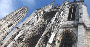 Portal de la Calende 01 Rouen Cathedral French Moments