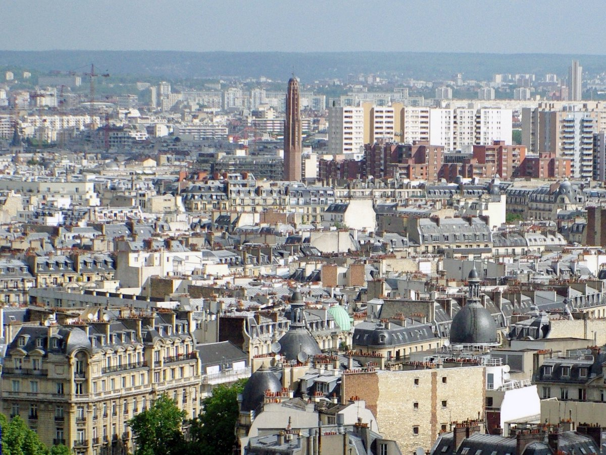 Sainte-Odile Church from Arc de Triomphe © French Moments