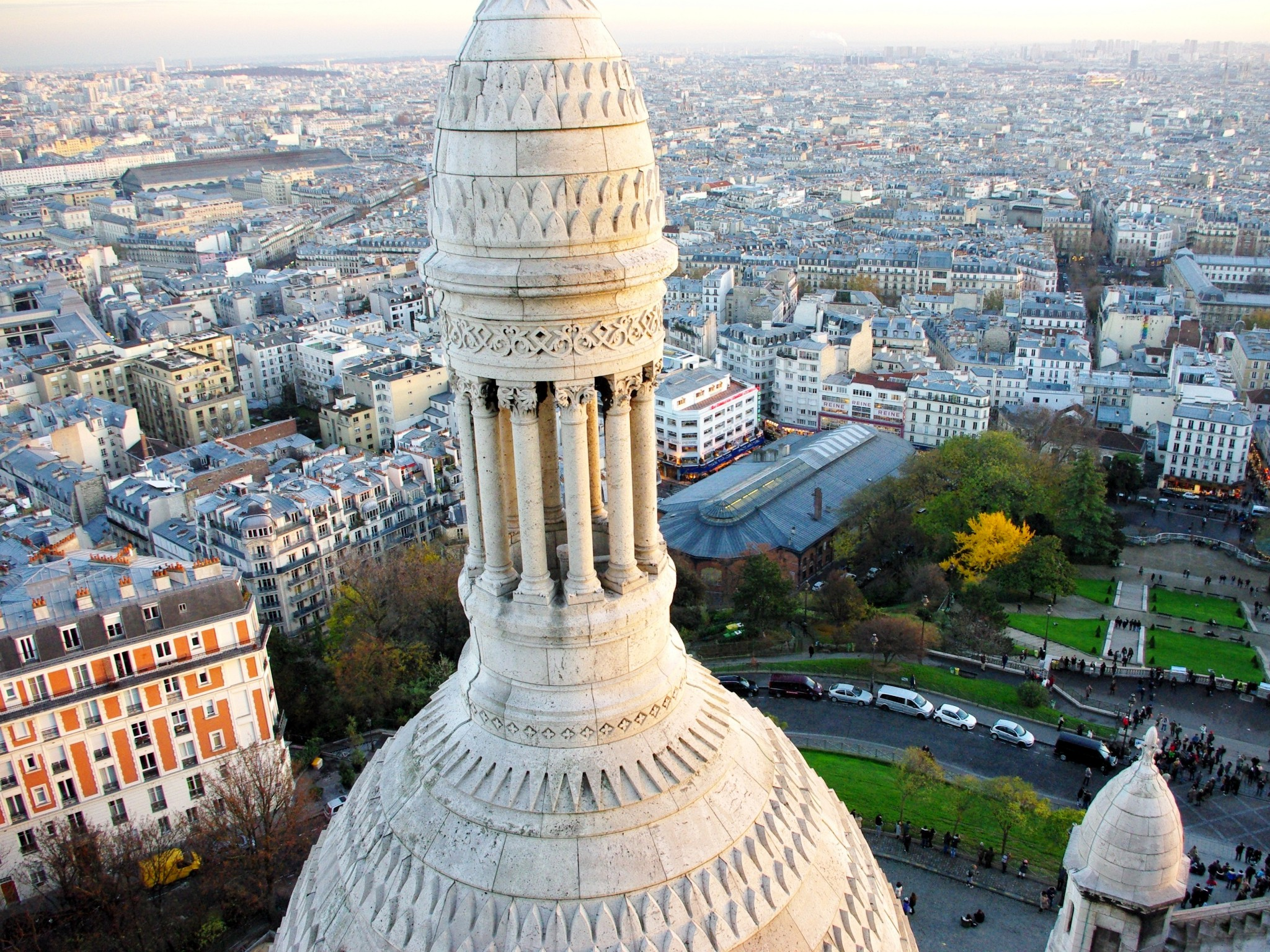 View from Dome of Sacré-Coeur © French Moments