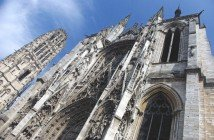 Portal de la Calende 01 Rouen Cathedral French Moments