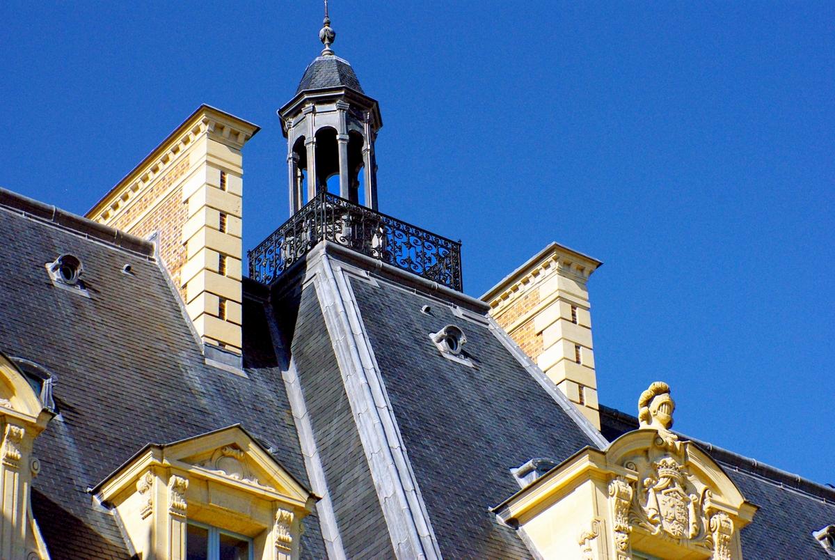 Detail of Chateau de Sceaux © French Moments