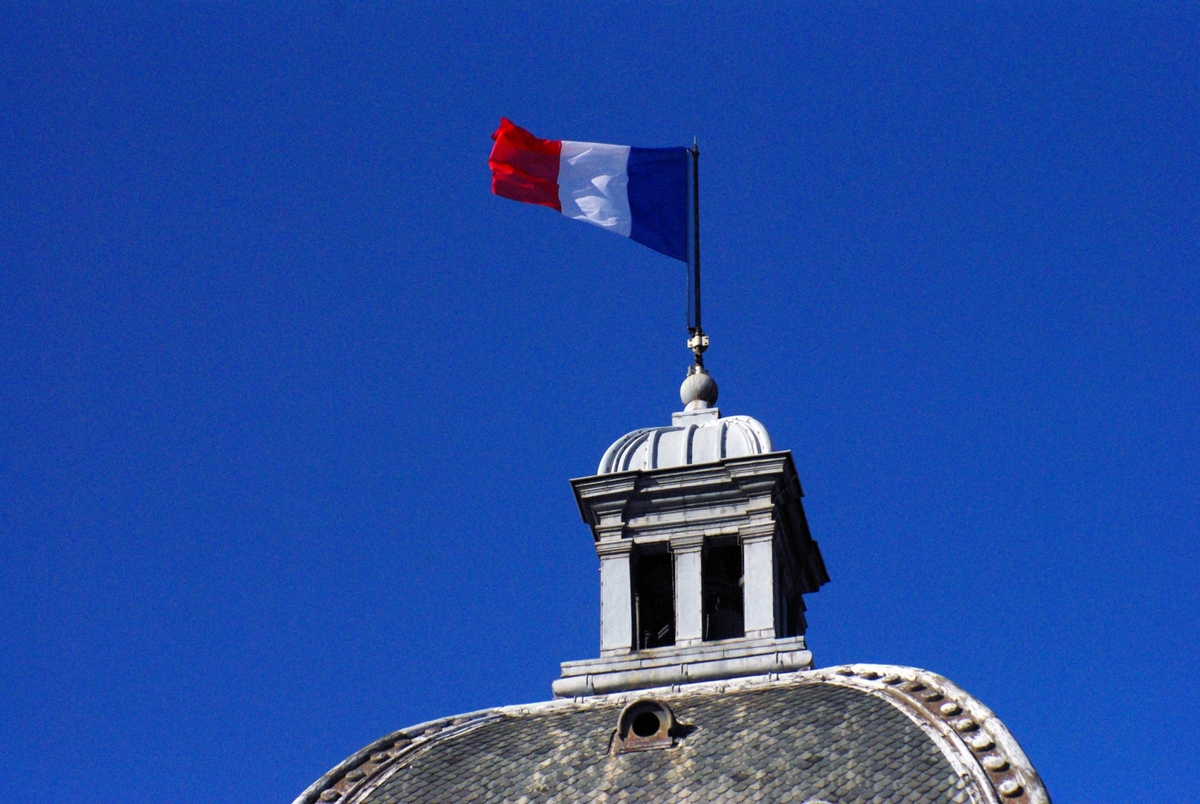Palais du Luxembourg French Flag © French Moments