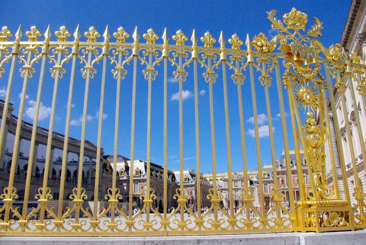 Railings at Versailles © French Moments