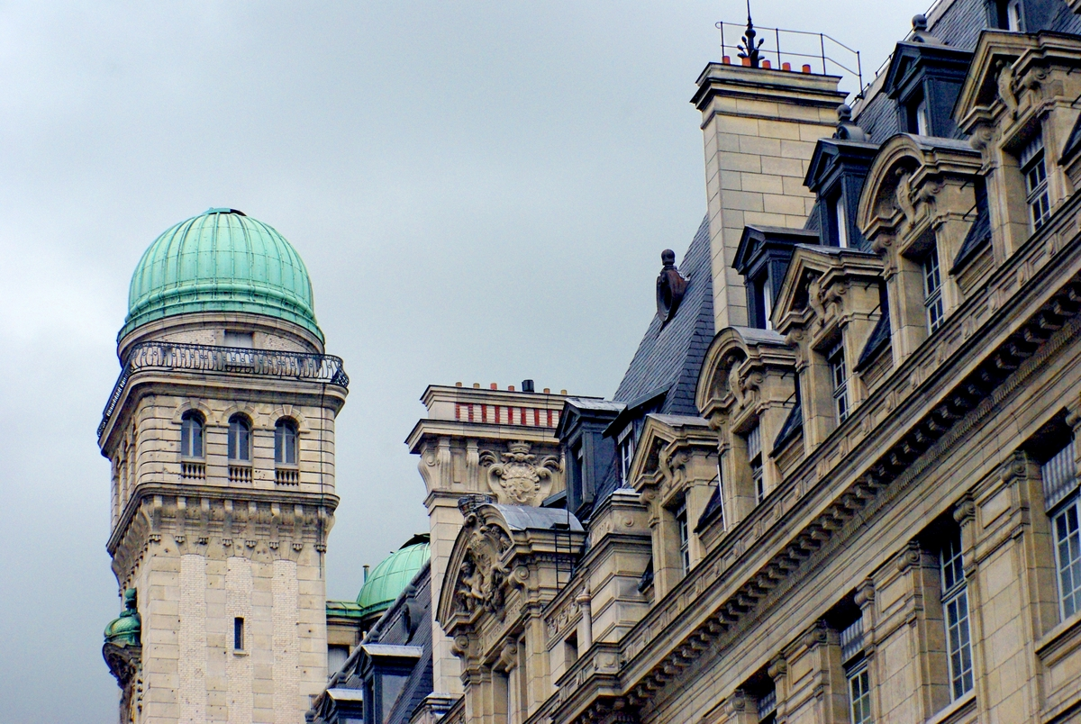 Sorbonne from Rue Saint-Jacques © French Moments