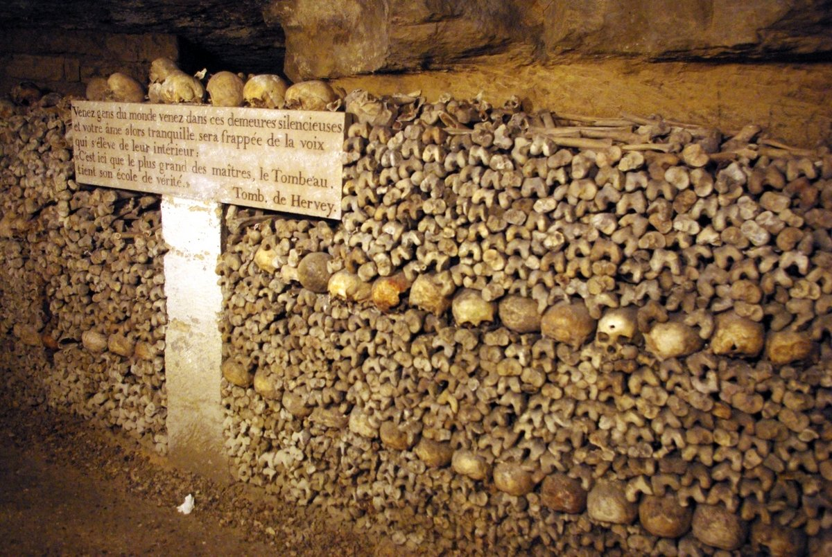 Catacombs of Paris © French Moments