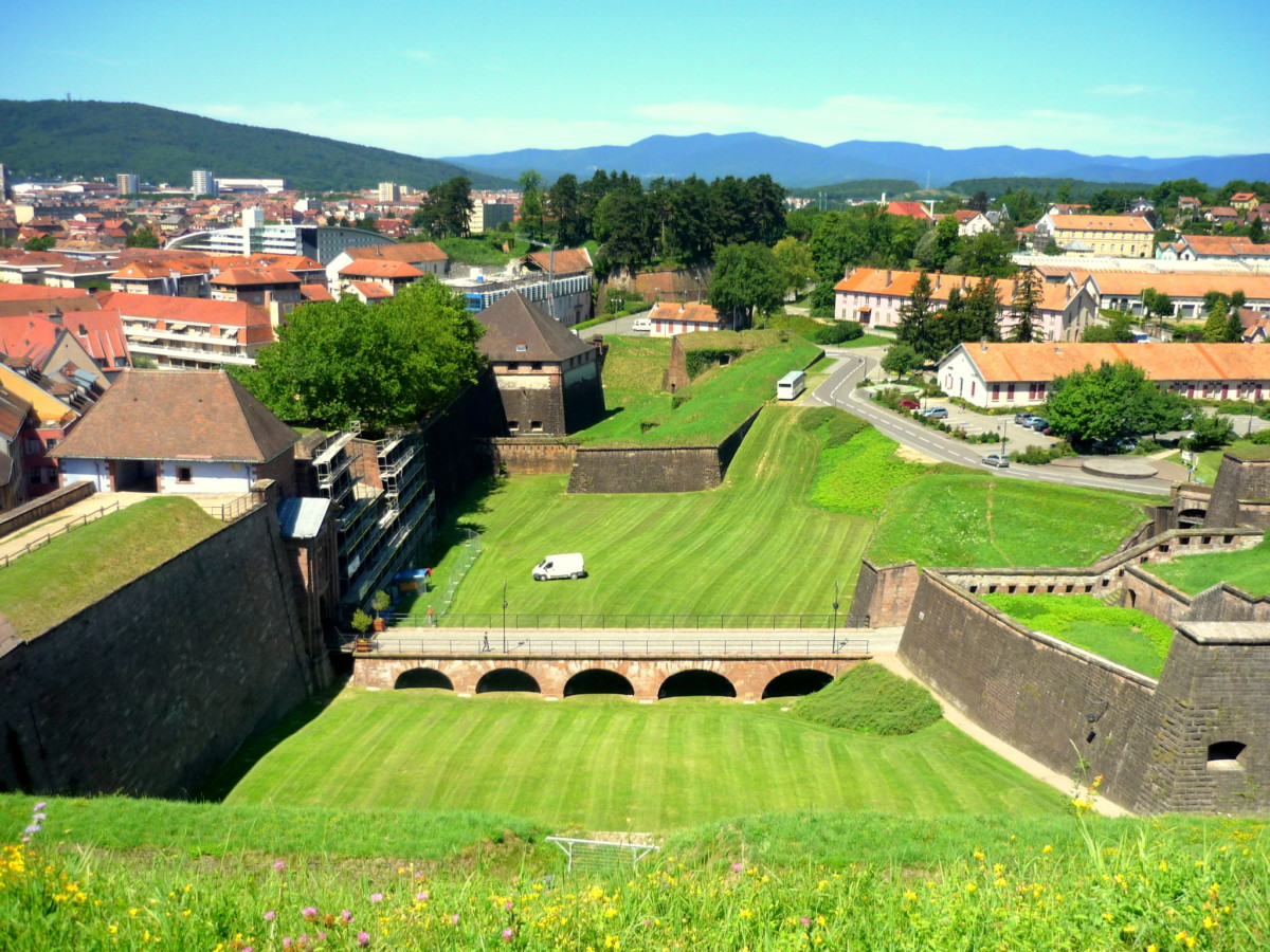 The fortifications of Vauban in Belfort © French Moments