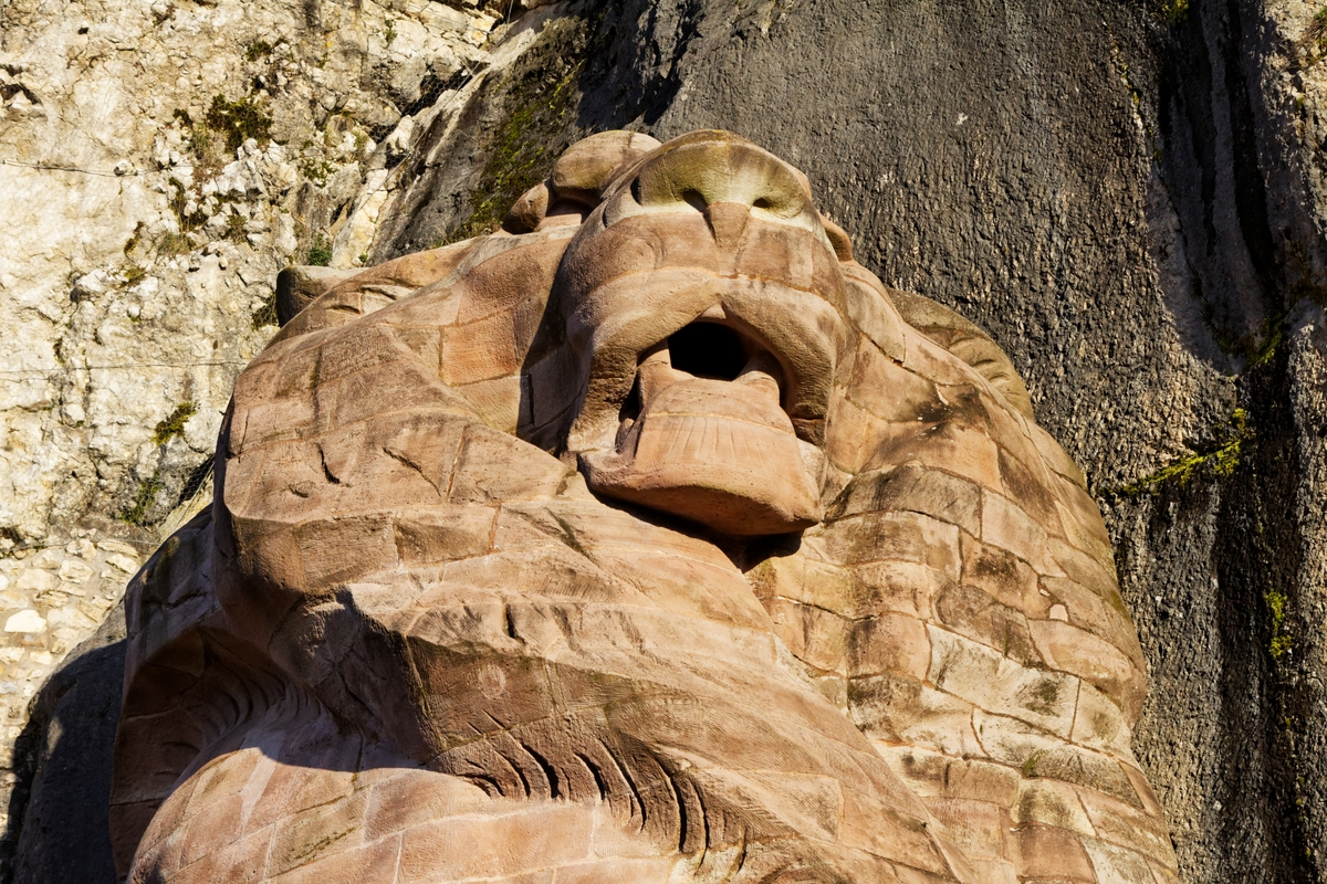 Lion de Belfort © Thesupermat - licence [CC BY-SA 3.0] from Wikimedia Commons