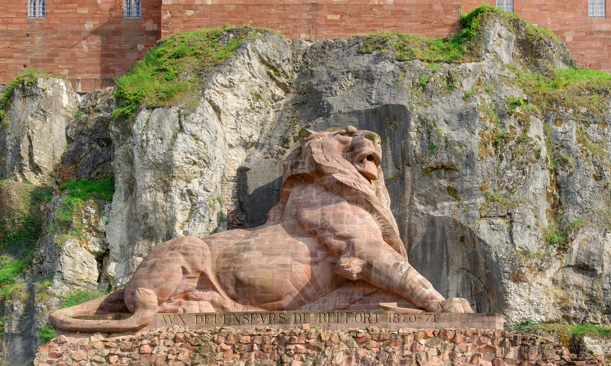 Lion de Belfort © Thomas Bresson - licence [CC BY 3.0] from Wikimedia Commons