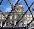 Louvre and Glass Pyramid 02 © French Moments