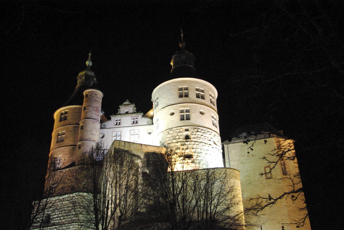 The castle of Montbéliard © French Moments
