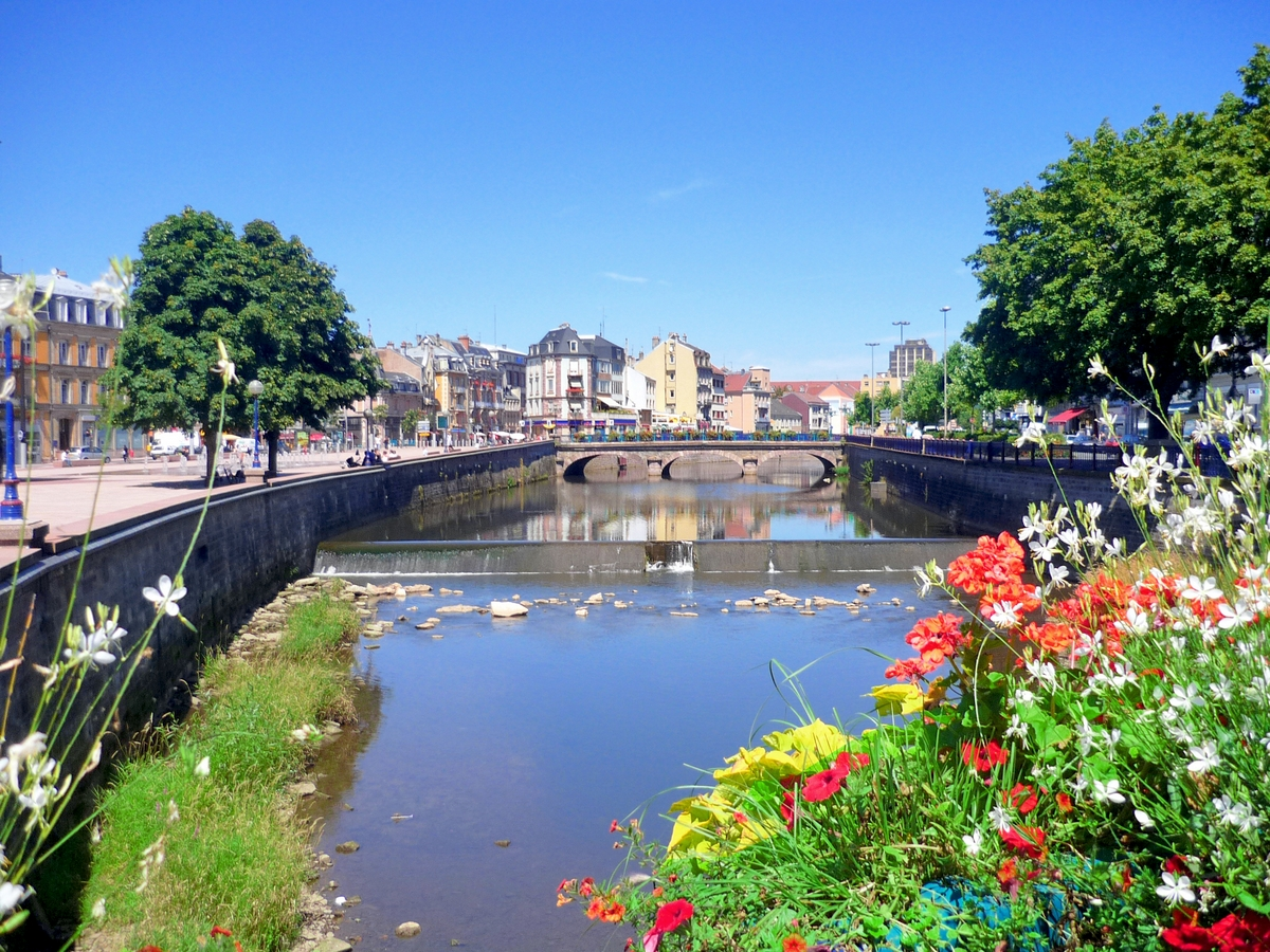 The Savoureuse river © French Moments