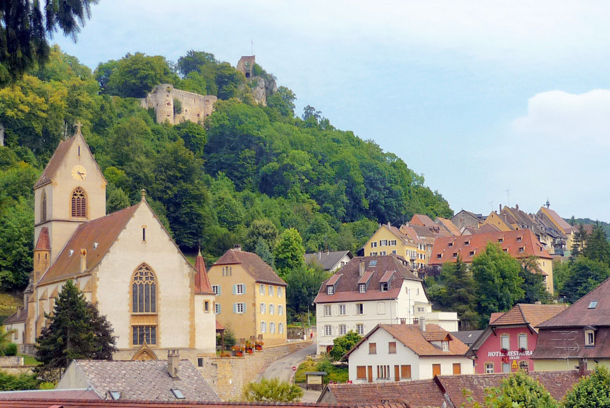 Ferrette in the Sundgau, Alsace © French Moments