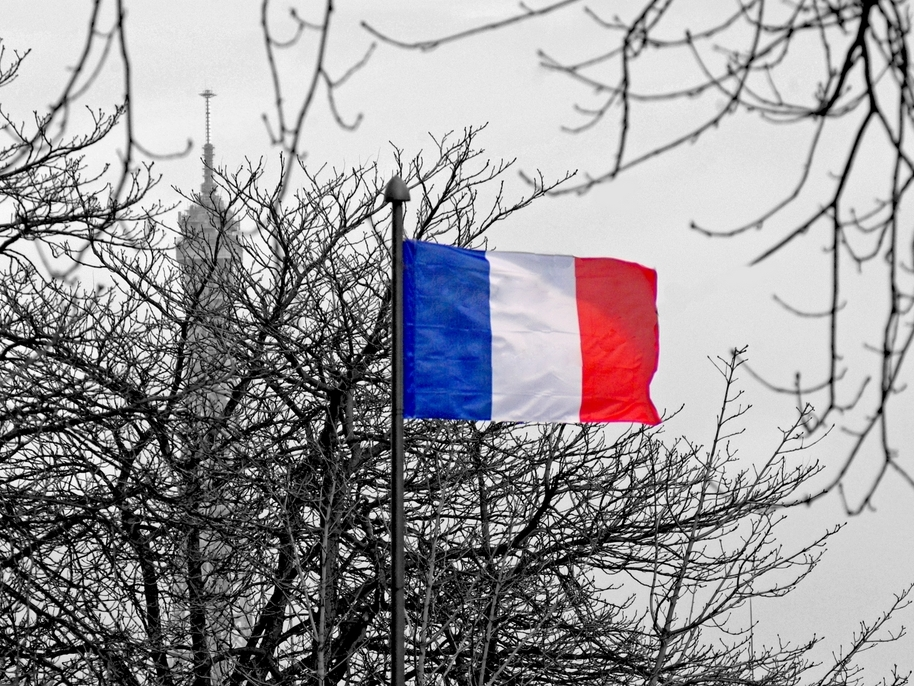 Pray for Paris French Flag Eiffel Tower copyright French Moments