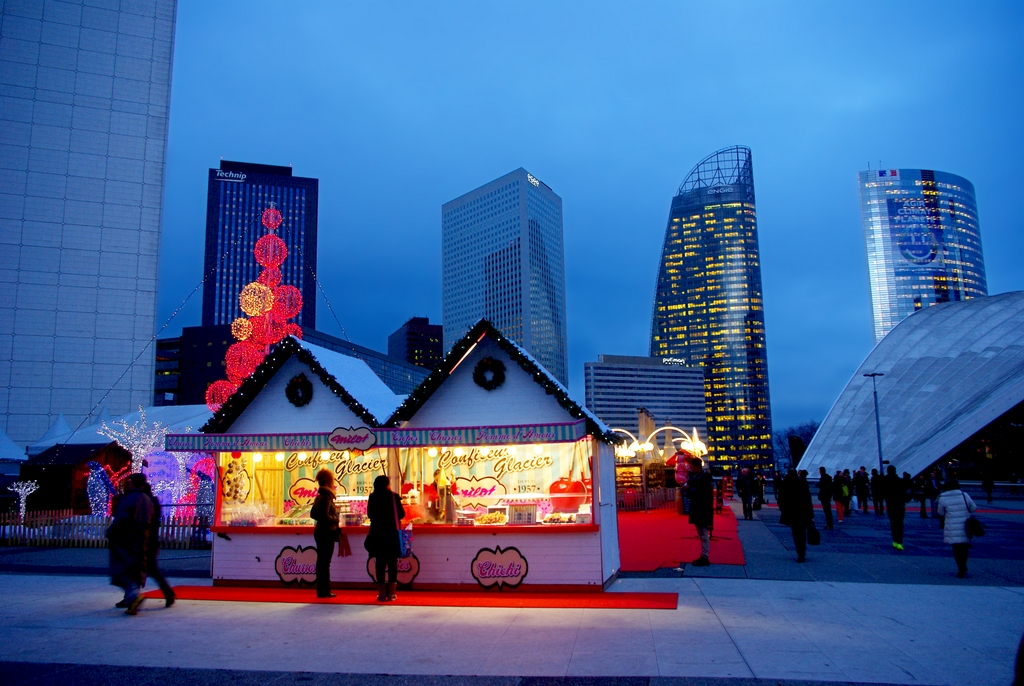 La Défense Christmas market © French Moments