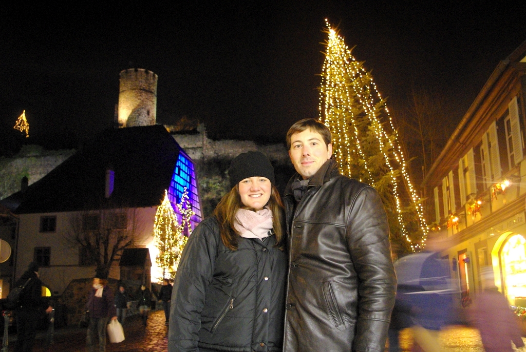 Pierre and Rachel at Kaysersberg Alsace © French Moments