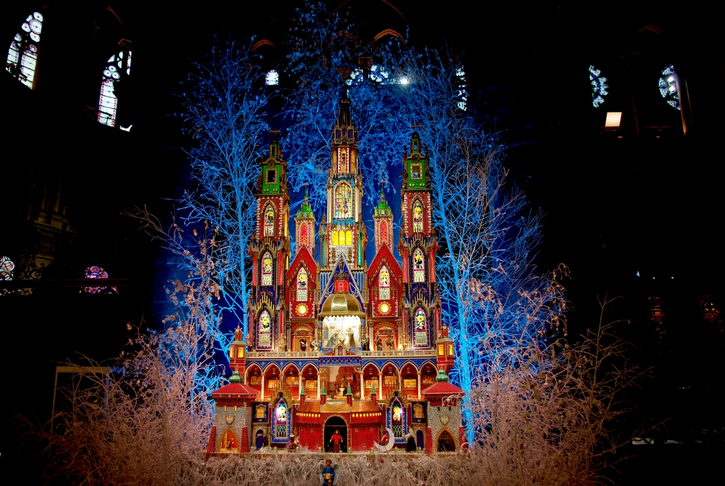 Cracow crib at Notre-Dame cathedral (2015) © French Moments