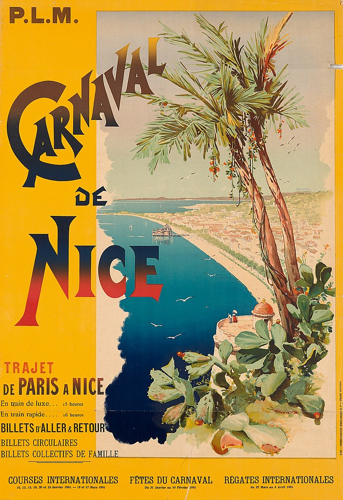 Nice Carnival Poster from 1898 [Public Domain]