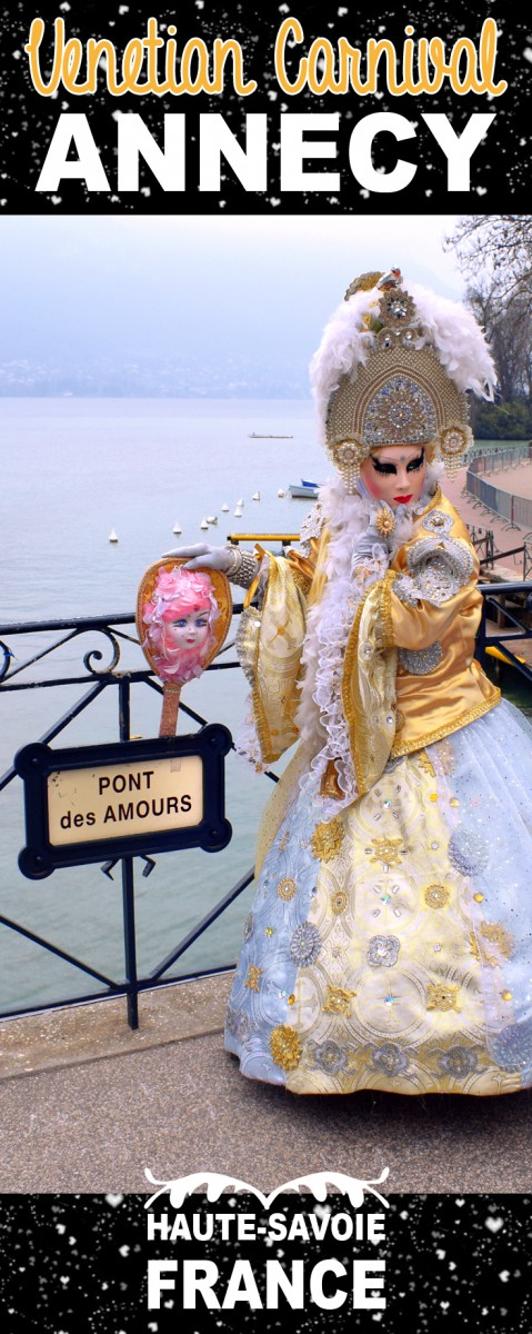 Annecy Venetian Carnival Pinterest © French Moments