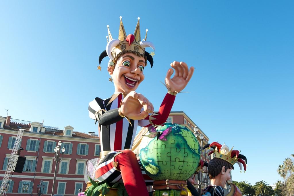The King, Nice Carnival © H. Lagarde - OTC Nice